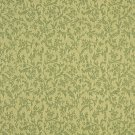"""A147 Light Green Foliage And Flowers Upholstery Fabric By The Yard 
