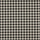 K0119A Black Beige Hounds Tooth Woven Solution Dyed Indoor Outdoor Upholstery Fabric By The Yard