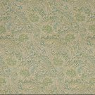 K0140A Green Blue Beige Floral Paisley Woven Indoor Outdoor Upholstery Fabric By The Yard
