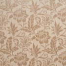 """K0100E Beige Two Toned Floral Metallic Sheen Upholstery Fabric By The Yard 