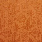 K0100F Orange Two Toned Floral Metallic Sheen Upholstery Fabric By The Yard | Width: 54""""