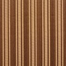 K0101A Brown Two Toned Stripe Metallic Sheen Upholstery Fabric By The Yard | Width: 54""""