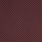 """A444 Burgundy And Gold Small Diamond And Dot Upholstery Fabric By The Yard 