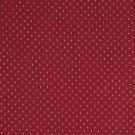"""A445 Red Small Diamond And Dot Upholstery Fabric By The Yard 