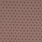 """A469 Tan And Burgundy Diamond Clover Leaf Upholstery Fabric By The Yard 