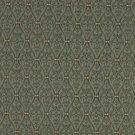 A477 Green, Red And Beige Waves Lines And Foliage Upholstery Fabric By The Yard | Width: 54""""