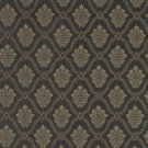 A493 Gold And Midnight Two Toned Brocade Medallion Upholstery Fabric By The Yard | Width: 54""""