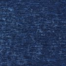 """K0150M Blue Solid Shiny Woven Velvet Upholstery Fabric By The Yard 