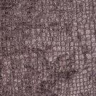 "K0151C Dark Purple Textured Alligator Shiny Woven Velvet Upholstery Fabric By The Yard | 54"""" Wide"
