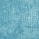"K0151M Aqua Turquoise Textured Alligator Shiny Woven Velvet Upholstery Fabric By The Yard | 54"""" Wid"