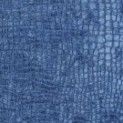 """K0151S Blue Textured Alligator Shiny Woven Velvet Upholstery Fabric By The Yard 