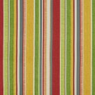 A242 Outdoor Upholstery Fabric By The Yard Contemporary Various Size Stripes - Green Yellow Red Blue