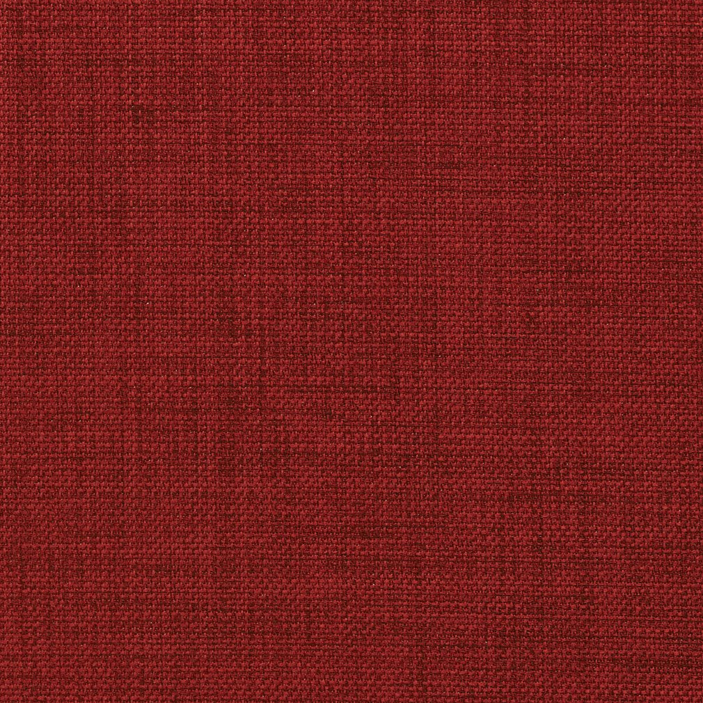 A249 Outdoor Indoor Marine Upholstery Fabric By The Yard Textured Solid Cherry Red