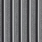 A366 Contemporary Black Silver Striped Tweed Textured Metallic Upholstery Fabric By The Yard