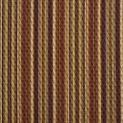 A352 Burgundy, Green and Beige Matelasse Quilted Striped Upholstery Fabric By The Yard