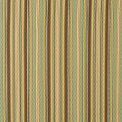 A350 Blue, Green and Brown Matelasse Quilted Striped Upholstery Fabric By The Yard