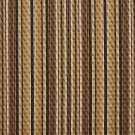 A351 Brown and Beige Matelasse Quilted Striped Upholstery Fabric By The Yard