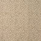 E192 Beige Giraffe Pattern Textured Woven Chenille Upholstery Fabric By The Yard