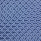 K0210A Blue And Light Blue Geometric Small Scale Diamonds Upholstery Fabric By The Yard