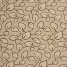 U0000C Brown And Mocha Large Scale Leaves Upholstery Fabric By The Yard