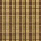 U0140B Brown And Green Checkered Silk Satin Look Upholstery Fabric By The Yard