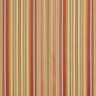 U0160A Pink Burgundy Gold Green Shiny Thin Striped Silk Satin Look Upholstery Fabric By The Yard
