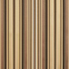 U0160B Brown, Gold Silver Shiny Thin Striped Silk Satin Look Upholstery Fabric By The Yard