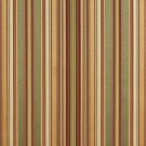 U0160E Green, Gold And Burgundy Shiny Thin Striped Silk Satin Look Upholstery Fabric By The Yard