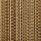 U0180B Green, Gold And Burgundy Woven Striped Silk Satin Look Upholstery Fabric By The Yard