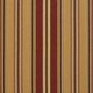 U0190A Gold, Green And Burgundy Various Size Striped Silk Satin Look Upholstery Fabric By The Yard