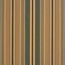 U0190B Green And Brown Various Size Striped Silk Satin Look Upholstery Fabric By The Yard