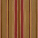 U0190E Red And Green Various Size Striped Silk Satin Look Upholstery Fabric By The Yard