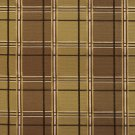 U0200A Green And Brown Multi Color Plaid Silk Satin Look Upholstery Fabric By The Yard