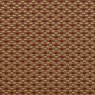 U0210C Red And Gold Small Rectangle Check Silk Satin Look Upholstery Fabric By The Yard