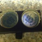 Homemade & unique Andechs bottle cap cufflinks. stag rare gift wedding birthday