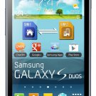 Samsung Galaxy Duos Trend S7562C Android Smartphone (GSM Factory Unlocked)
