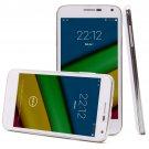 iRulu U1s Phone -5 Inch QHD Quad-core Dual SIM Card 3G Smartphone Android 4.4 OS, Front 5MP(White)