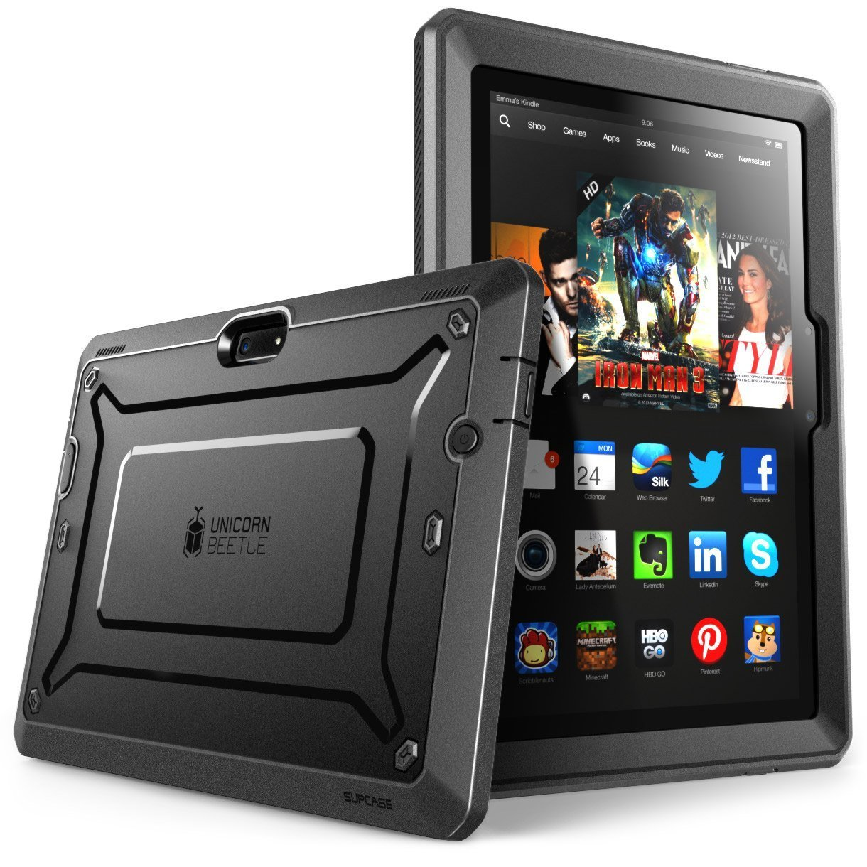SUPCASE [Heavy Duty] Amazon Fire HDX 8.9 Case (4th