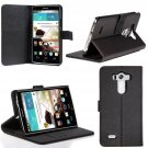 LG G3 Case, SUPCASE Premium Wallet Leather Case for LG G3 (Black), Built-in Credit Card/ID Card Slot