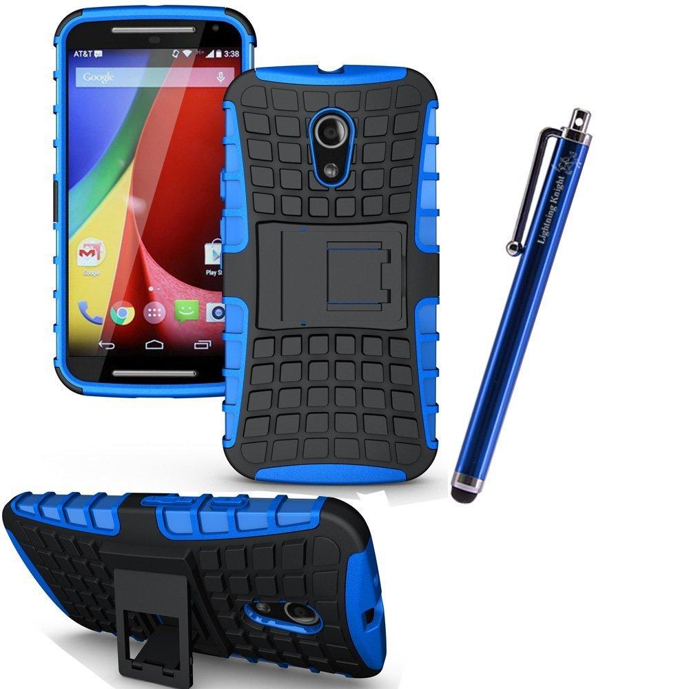 lk motorola moto g 2nd gen case rugged armor spider 2 in 1 combo defender blue. Black Bedroom Furniture Sets. Home Design Ideas