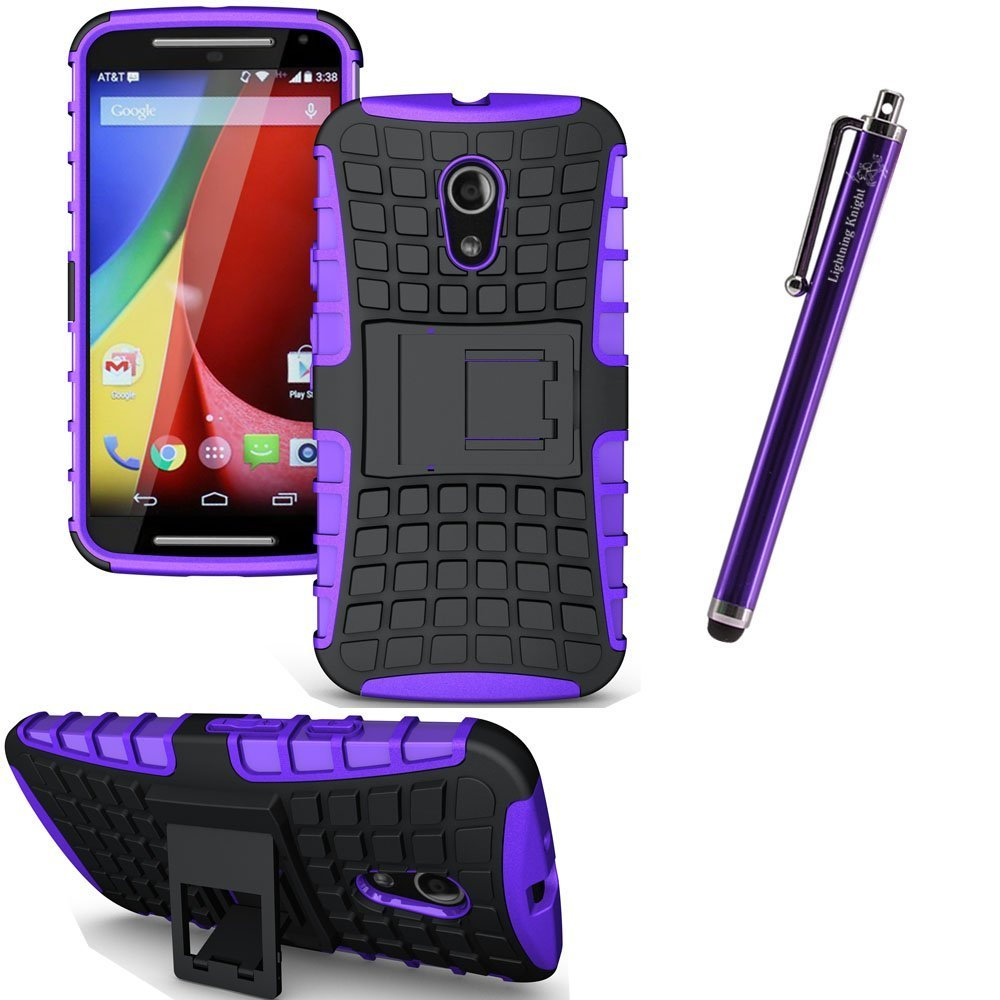 lk motorola moto g 2nd gen case rugged armor spider 2 in 1 combo defender purple. Black Bedroom Furniture Sets. Home Design Ideas
