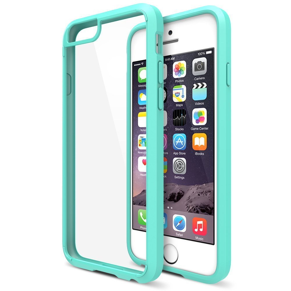 maxboost clear cushion iphone 6 plus 5 5 case bumper. Black Bedroom Furniture Sets. Home Design Ideas