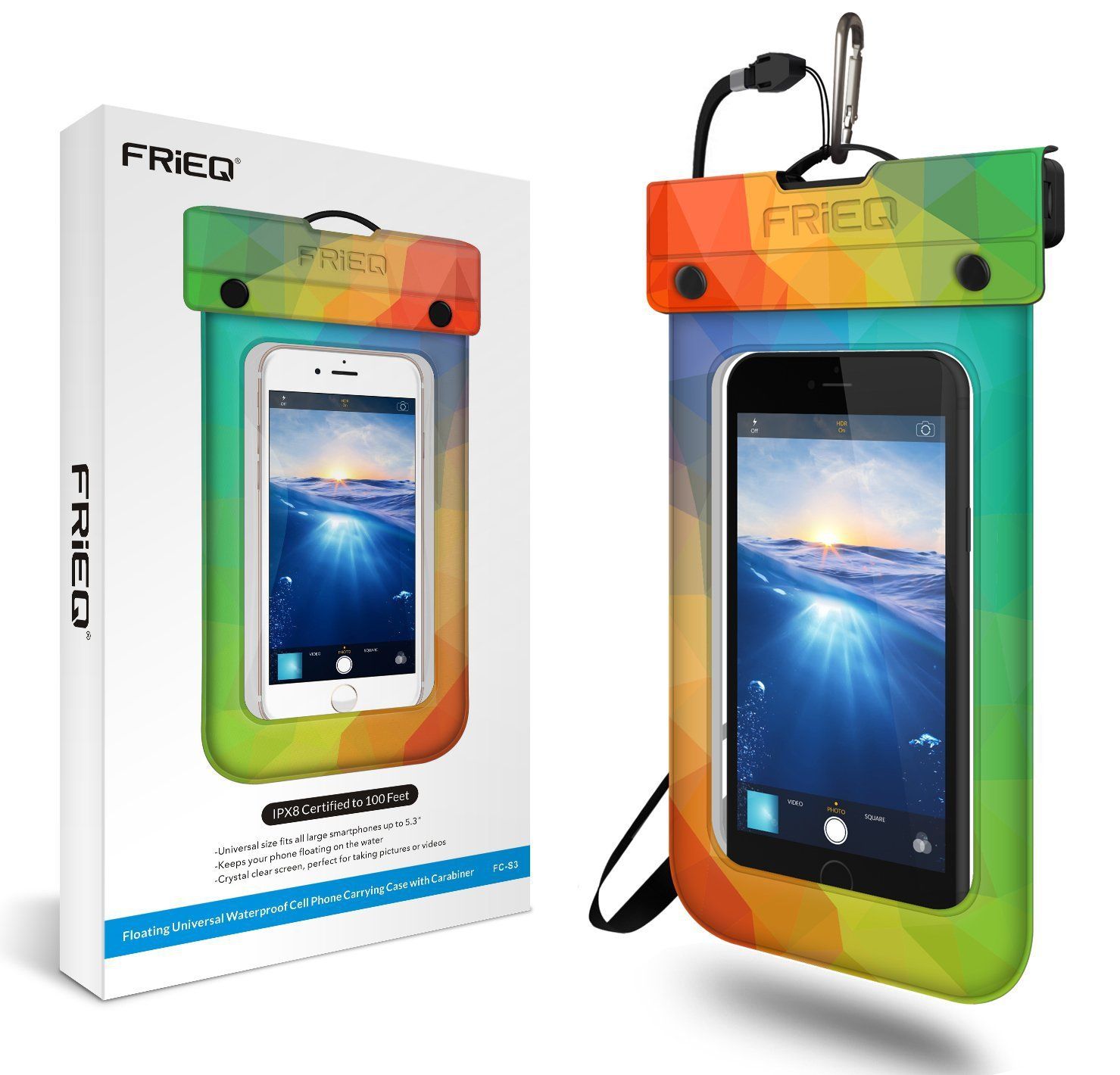 Waterproof And Floating Iphone Case