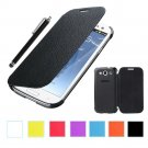 S3 Case, ULAK Samsung Galaxy S3 Case, Flip Cover Case for Samsung Galaxy S3(Black Flip)