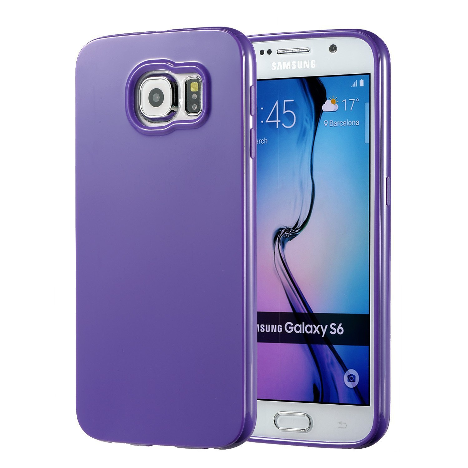galaxy s6 case technext020 galaxy s6 case bumper new ultra thin purple. Black Bedroom Furniture Sets. Home Design Ideas