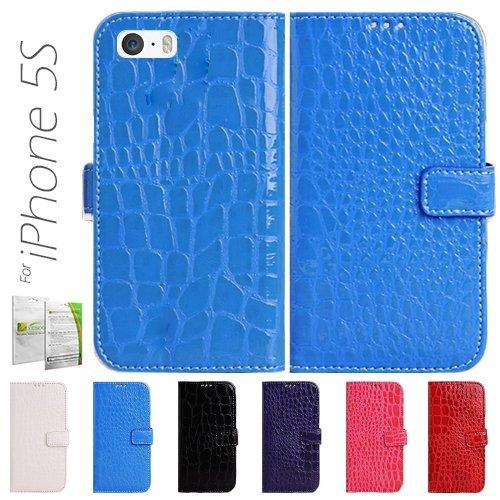 yesoo crocodile skin design pu leather luxury wallet case. Black Bedroom Furniture Sets. Home Design Ideas