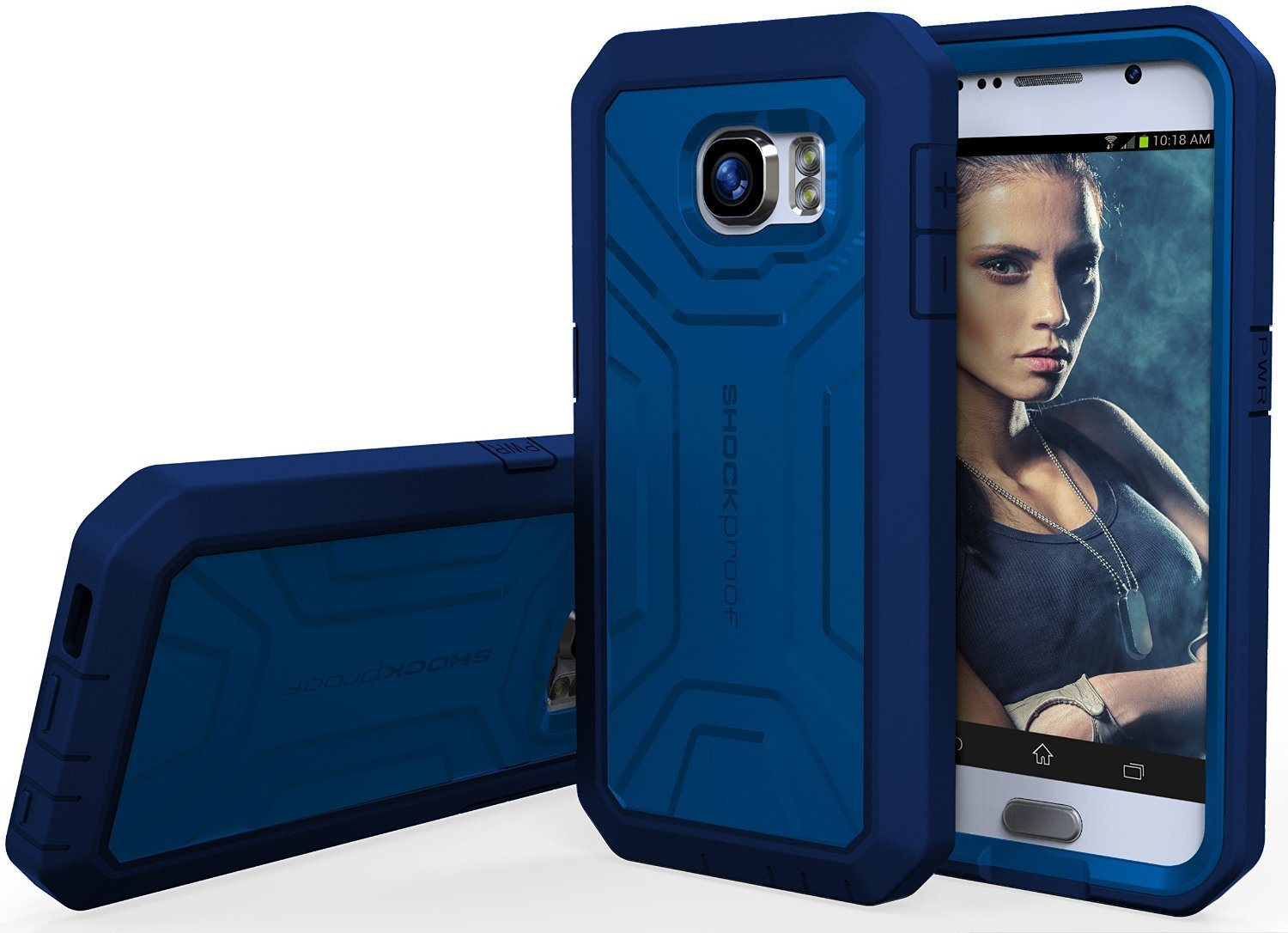 galaxy s6 case new extreme armor grip case w hd screen. Black Bedroom Furniture Sets. Home Design Ideas