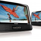 "Philips PD9012/37 Dual 9"" inch Widescreen Travel Portable Car DVD Player"