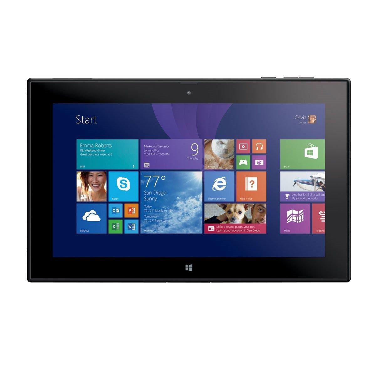 nokia lumia 2520 32gb verizon wireless 4g lte wifi 10 1 windows tablet. Black Bedroom Furniture Sets. Home Design Ideas