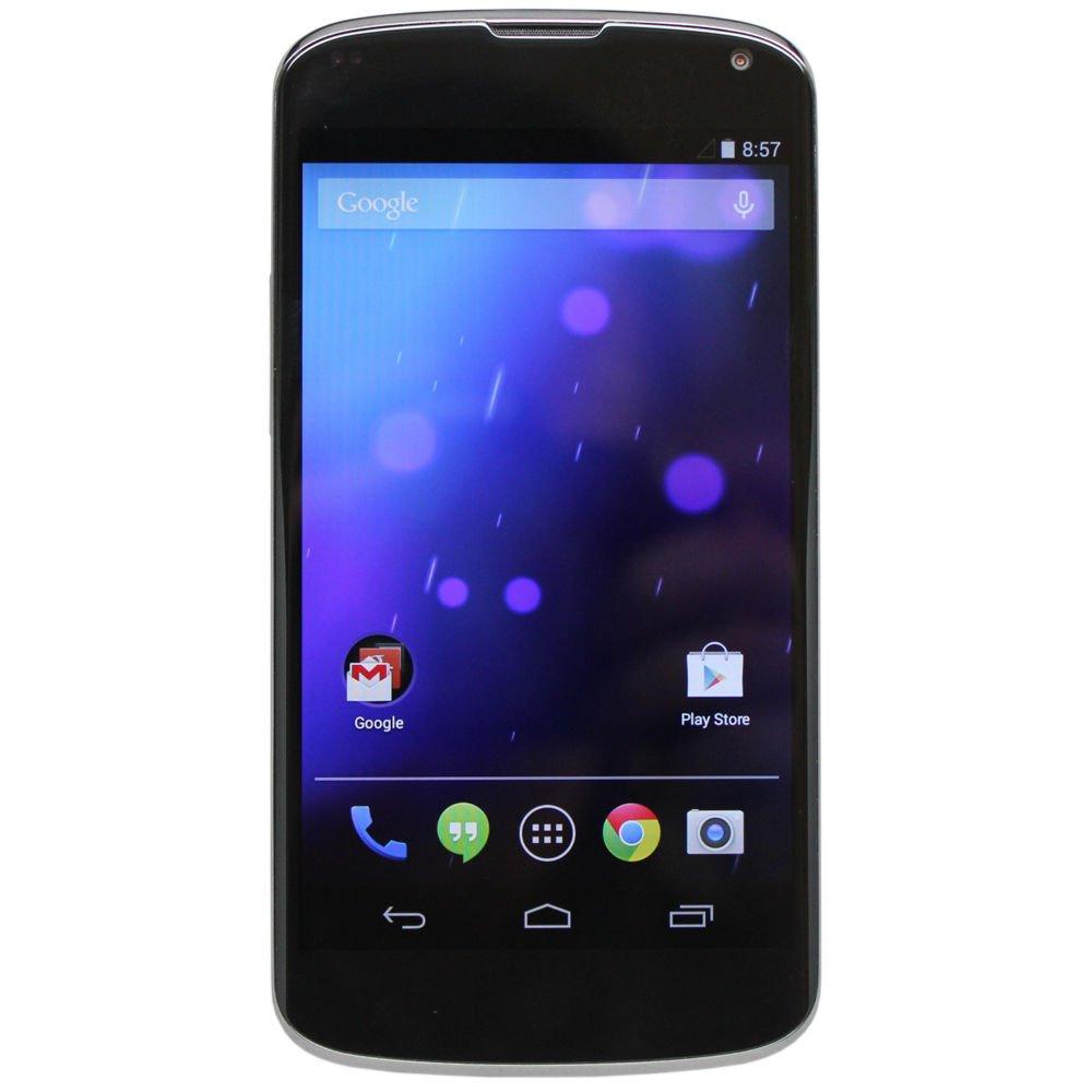 LG Nexus 4 E960 16GB (Black) Android Smartphone